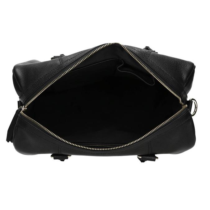 Dámská kožená kabelka bata, černá, 964-6281 - 15