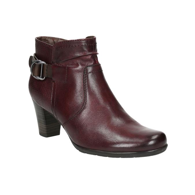 Kotníčková obuv šíře H bata, červená, 696-5625 - 13