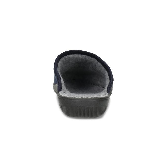 Dámská domácí obuv modrá bata, modrá, 579-9621 - 15