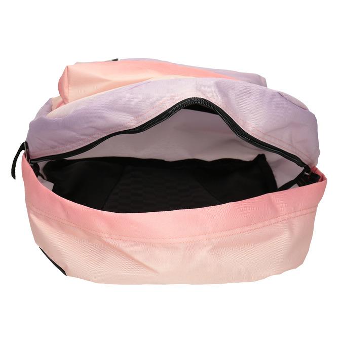 Dámský pastelový Ombré batoh vans, červená, 969-5079 - 15
