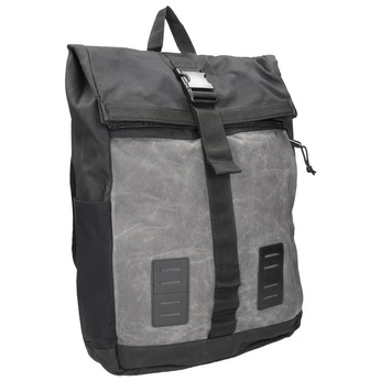 Šedý unisex batoh s přezkou vans, šedá, 969-2095 - 13