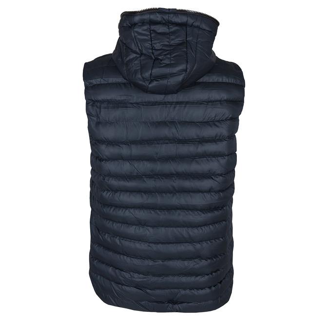 Modrá pánská vesta bata, modrá, 979-9116 - 26