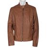 Pánská kožená bunda bata, vícebarevné, 974-0154 - 13