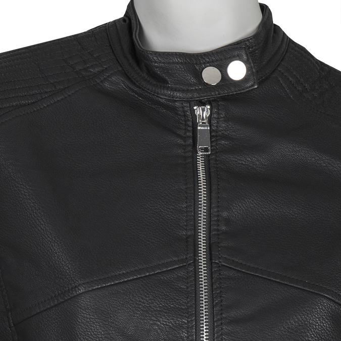 Koženková dámská bunda bata, černá, 971-6203 - 16