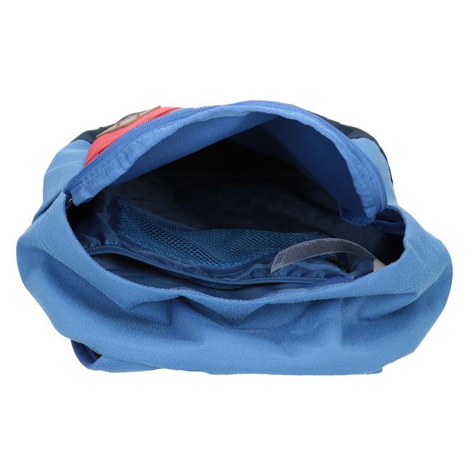 Modrý batoh s červenou kapsou vans, modrá, 969-9095 - 15