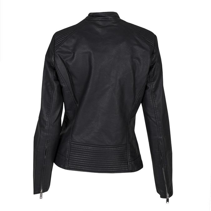 Koženková dámská bunda bata, černá, 971-6203 - 26