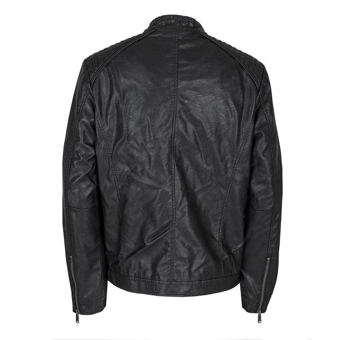 Pánská bunda s prošitím bata, černá, 971-6103 - 26