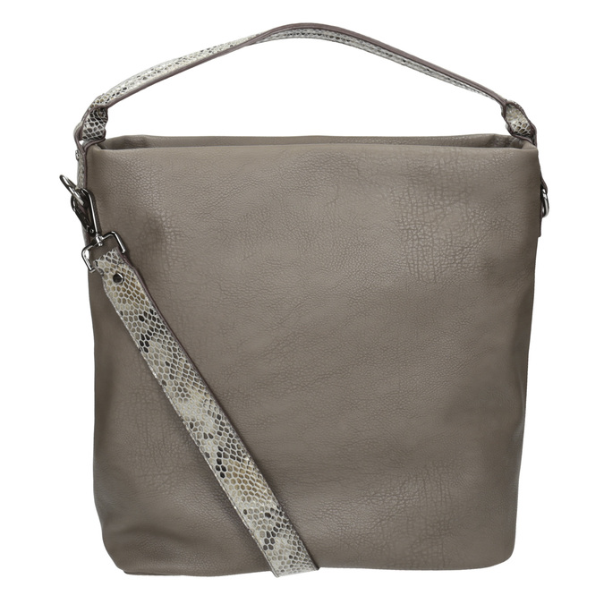 Dámská Hobo kabelka s popruhem gabor-bags, hnědá, 961-8029 - 16