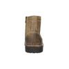 Kotníčková kožená obuv bata, hnědá, 893-3653 - 17