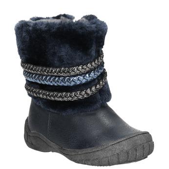 Dětská zimní obuv se zateplením bubblegummers, modrá, 191-9620 - 13