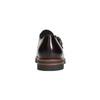 Dámské kožené Monk Shoes bata, červená, 516-5611 - 17