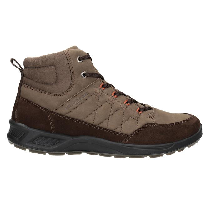 Kožená pánská obuv weinbrenner, hnědá, 846-4647 - 26