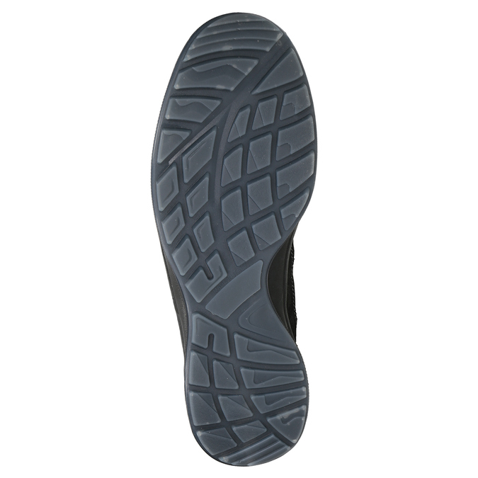 Pánská kožená Outdoor obuv weinbrenner, šedá, 846-2647 - 17