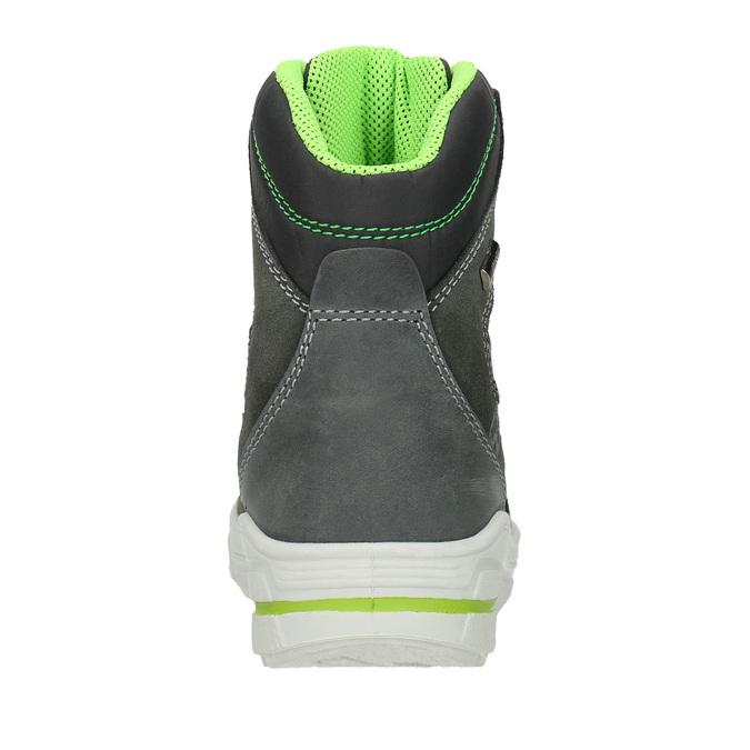 Kožené dětské zimní boty weinbrenner-junior, šedá, 493-2613 - 16