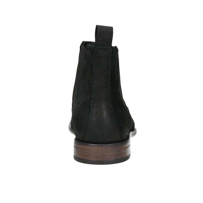 Kožená obuv v Chelsea stylu vagabond, černá, 816-6028 - 16