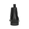 Pánská kožená Chelsea obuv vagabond, černá, 814-6024 - 16