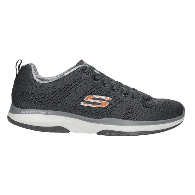 Šedé sportovní tenisky skechers, šedá, 809-2330 - 26