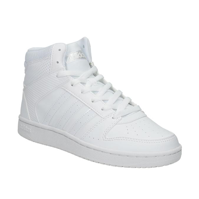 Bílé kotníčkové tenisky adidas, bílá, 501-1212 - 13