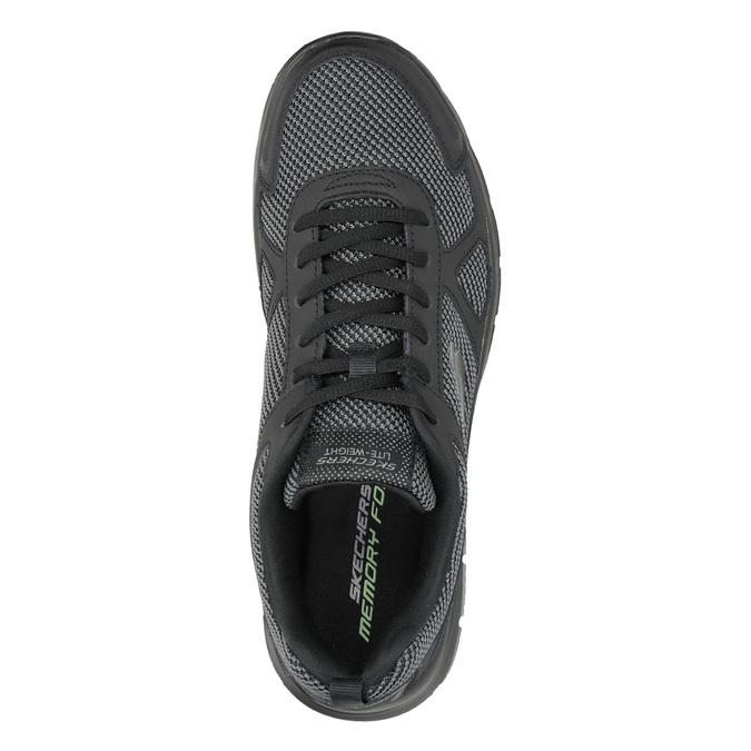 Pánské černé tenisky skechers, černá, 809-6331 - 15
