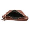 Kožená dámská kabelka bata, hnědá, 964-4274 - 15