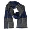 Pánská modrá šála bata, šedá, modrá, 909-9632 - 13
