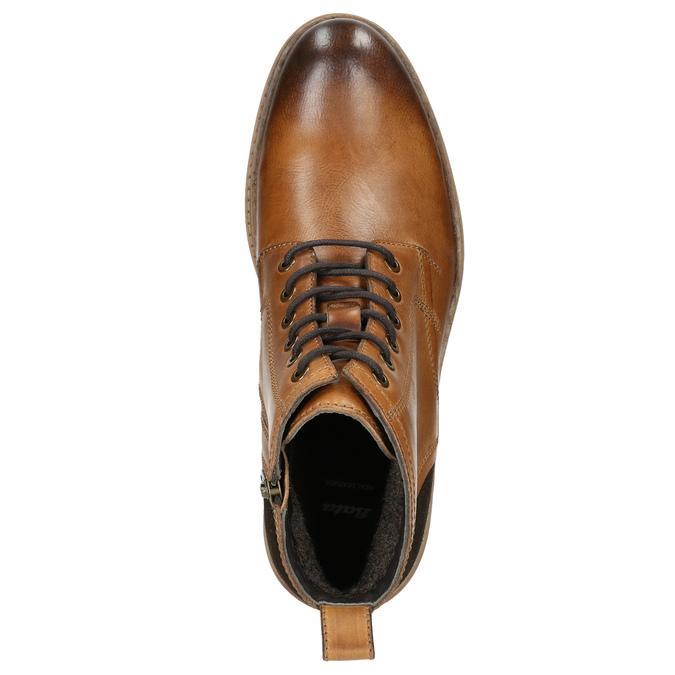 Kotníčková pánská zimní obuv bata, hnědá, 896-3685 - 26