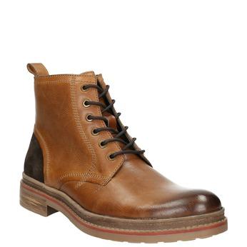 Kotníčková pánská zimní obuv bata, hnědá, 896-3685 - 13