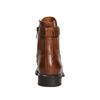 Kožené dámské kozačky bata, hnědá, 596-4680 - 16