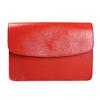 Červená kožená kabelka vagabond, červená, 964-5086 - 17
