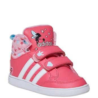 Dívčí kotníčkové tenisky adidas, růžová, 101-5292 - 13