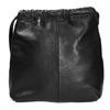 Kožená dámská Crossbody kabelka vagabond, černá, 964-6085 - 19
