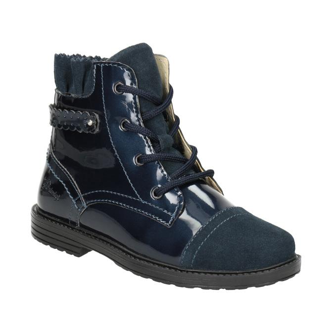 Dětské kotníčková obuv z kůže primigi, modrá, 228-9001 - 13
