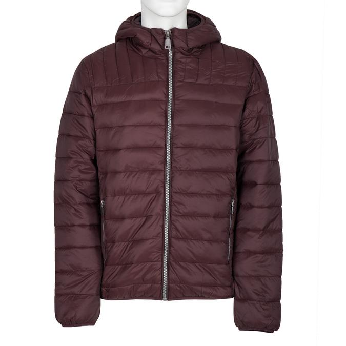 Pánská prošívaná bunda s kapucí bata, červená, 979-5143 - 13
