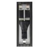 Pánské šle s koženým detailem bata, černá, 999-6310 - 26