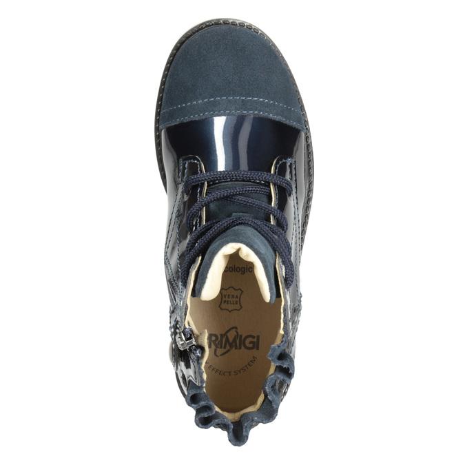 Dětské kotníčková obuv z kůže primigi, modrá, 228-9001 - 15