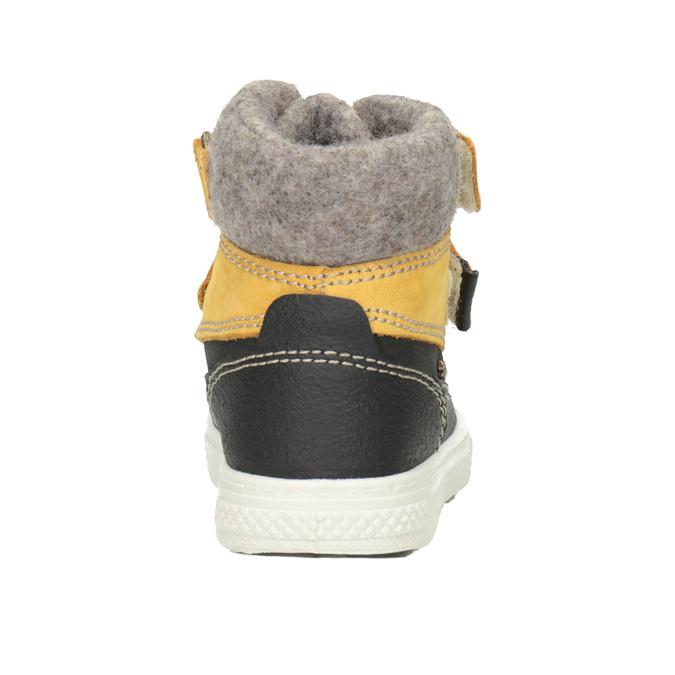 Dětská zimní obuv kožená primigi, žlutá, 196-8006 - 16