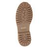 Kožená kotníčková obuv na výrazné podešvi weinbrenner, hnědá, 596-4664 - 17