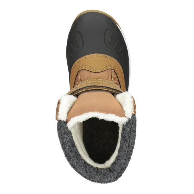 Dětská zimní obuv na suché zipy icepeak, hnědá, 399-3018 - 15