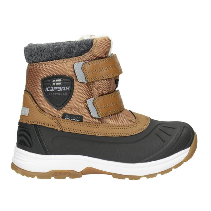 Dětská zimní obuv na suché zipy icepeak, hnědá, 399-3018 - 26