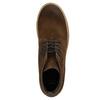Hnědá kožená kotníčková obuv bata, hnědá, 843-3632 - 26