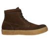 Hnědá kožená kotníčková obuv bata, hnědá, 843-3632 - 15