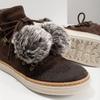 Kožená kotníčková obuv weinbrenner, hnědá, 596-4674 - 14