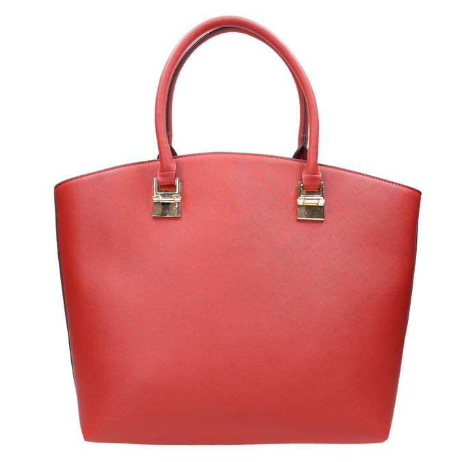 Dámská červená kabelka bata, červená, 961-5821 - 17