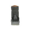 Pánská kožená obuv s výraznou podešví weinbrenner, šedá, 896-2702 - 16