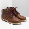 Pánská zimní kotníčková obuv bata, hnědá, 896-3677 - 26