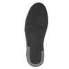 Kožené pánské kotníčkové tenisky bata, černá, 844-6644 - 17