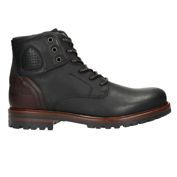 Kotníčková pánská obuv bata, černá, 896-6665 - 15