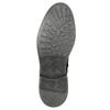 Kožená kotníčková obuv zimní bata, černá, 896-6685 - 19