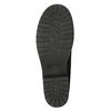 Kotníčková obuv s kožíškem bata, černá, 591-6618 - 19