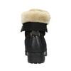 Kotníčková obuv s kožíškem bata, černá, 591-6618 - 17